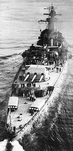Photograph of Admiral Graf Spee