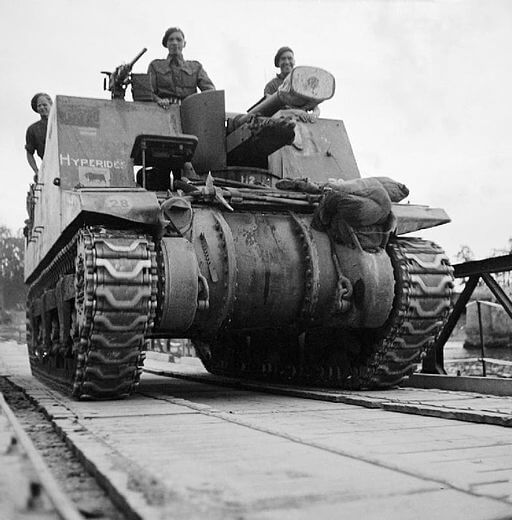 Sexton 25-Pounder Self-Propelled Gun Howitzer