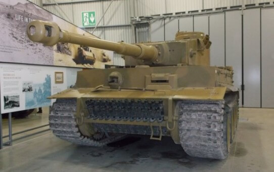 Tiger 131 at Bovington Tank Museum